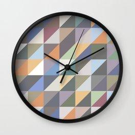 Triangles 4 Wall Clock