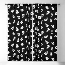 Gossiping Skulls Blackout Curtain