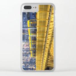 Margaret Bridge Budapest Clear iPhone Case