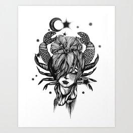Cancer Art Print