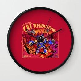 Cat Revolution Wall Clock