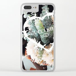 DESIGNER KILLS Clear iPhone Case