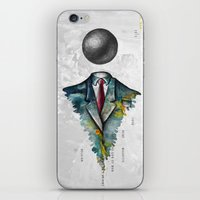 magritte iPhone & iPod Skins featuring Mr. Man • René Magritte by Ian Vicknair
