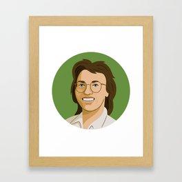 Queer Portrait - Billie Jean King Framed Art Print