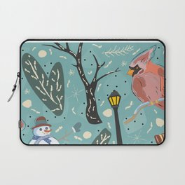 Design Inspired By Magical Times of Winter, the Time of True Peace, Joy and Happiness Laptop Sleeve