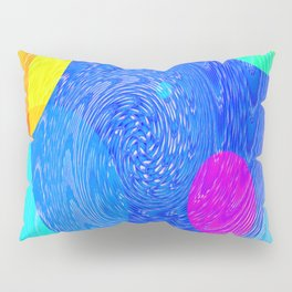 Re-Created Twisters No. 5 by Robert S. Lee Pillow Sham