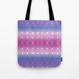 PINK GEOMETRY  Tote Bag