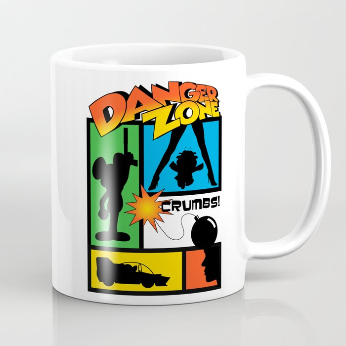 Wherever There Is Danger Coffee Mug