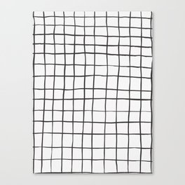 brushstroke grid Canvas Print