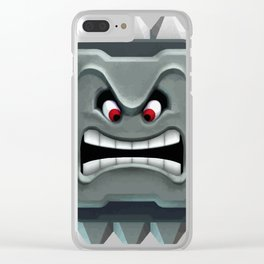 Pay Attention Clear iPhone Case