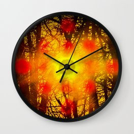 528 vortex Wall Clock