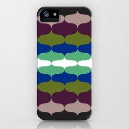 Retro 70s Pattern 6 iPhone Case