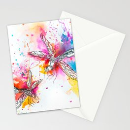 Anatomy of a Dragonfly Stationery Cards