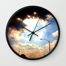 Sun Shine Wall Clock