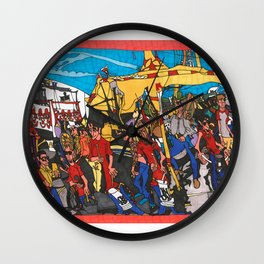 The Midway - Calgary Stampede Wall Clock