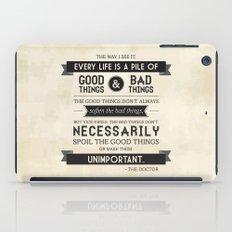 Good Things & Bad Things iPad Case