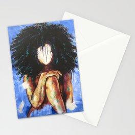 Naturally I BLUE Stationery Cards