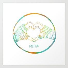 Smitten Art Print