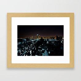 Night Tour Framed Art Print