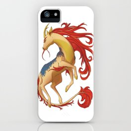 Mythical Creature: Kirin iPhone Case