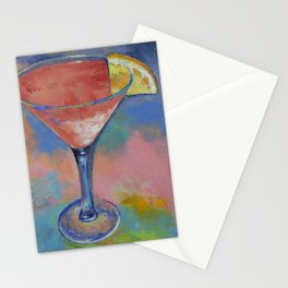 Marilyn Monroe Martini Stationery Cards