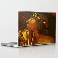 egyptian Laptop & iPad Skins featuring Egyptian Princess by MIMeyer