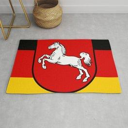 Flag of Niedersachsen (Lower Saxony) Rug