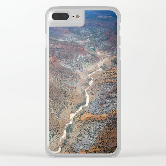 Grand Canyon bird's eye view #2 Clear iPhone Case