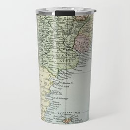 Vintage Map of the South of America Travel Mug