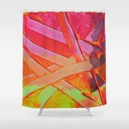 Fluoro Bloom II  Shower Curtain