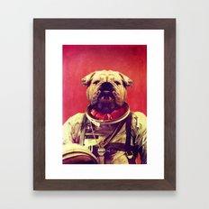 Mars Rover Framed Art Print