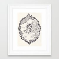 into the wild Framed Art Prints featuring wild by yohan sacre