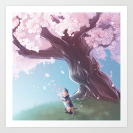 One Fine Spring Afternoon Art Print