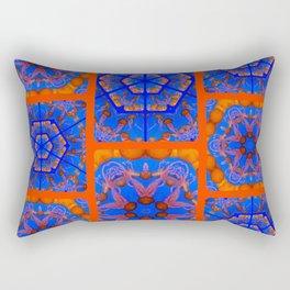 Jellyfish print Rectangular Pillow