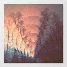 splitting of reality Canvas Print