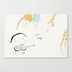 Play it again (ANALOG zine) Canvas Print