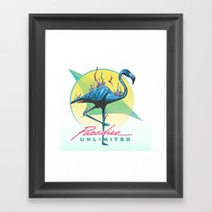 Paradise Unlimited Framed Art Print