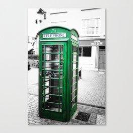 Irish Phone Booth Canvas Print