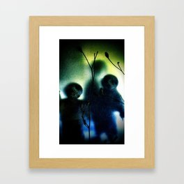 three imaginary boys Framed Art Print