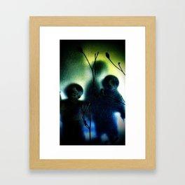 three imaginary boys Framed Art Print