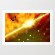 SPACE 041514 - 060 Art Print