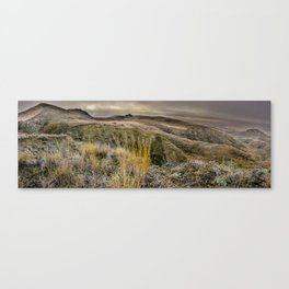 Dramatic Landscape at Grasslands National Park Canvas Print