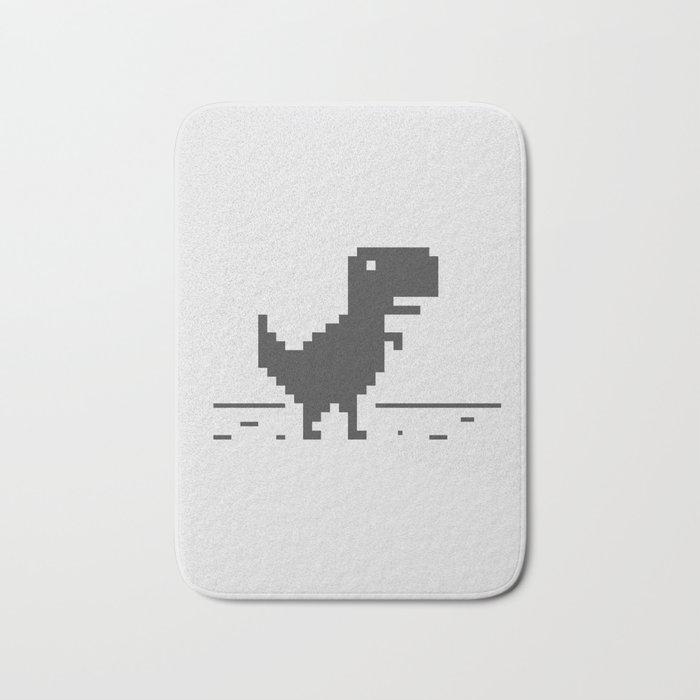 Google Chrome's Dino Bath Mat