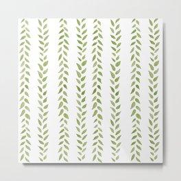 Matcha Greens Metal Print