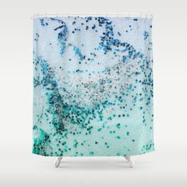 NATURAL SEA ART Shower Curtain