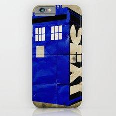 Minimalist Doctor Who  - SEXY TARDIS Slim Case iPhone 6s