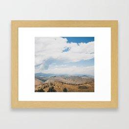 Rocky Mountain View Framed Art Print
