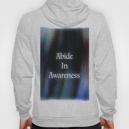 Abide In Awareness Inspiration Hoody