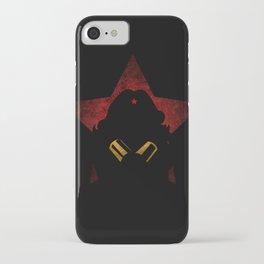 SuperHeroes Shadows : WonderWoman iPhone Case