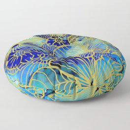 Dilly Floral Floor Pillow